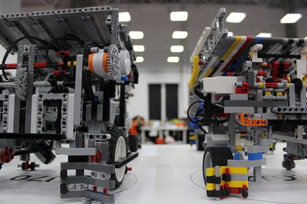 LEGO Mindstorms Roboter WRO Sotchi