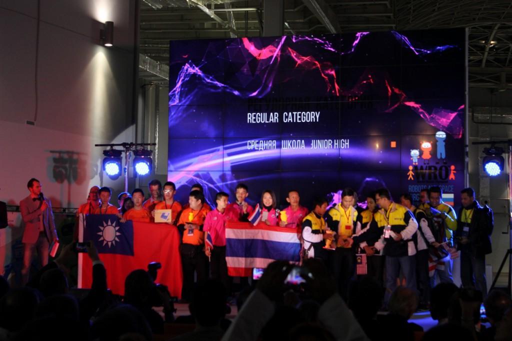 Die Sieger des WRO-Finals