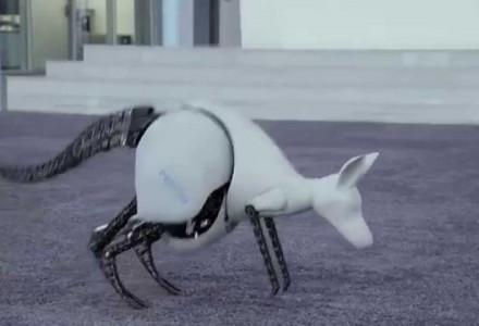Kommt ein Roboter gehüpft