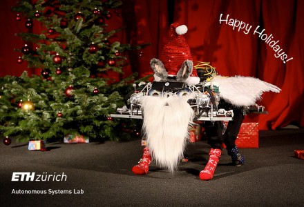 Roboter als Helfer des Weihnachtsmannes
