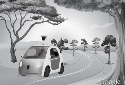 Das Google Self-Driving Car.