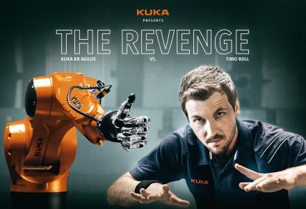 KUKA gegen die Timo Boll geht in die nächste Runde