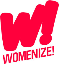 Logo Womenize!