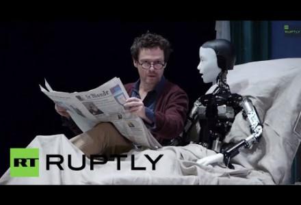Bühne frei für… einen Roboter
