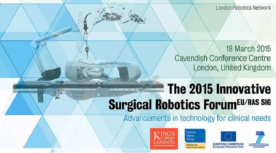 Logo des Innovative Surgical Robotics Forum