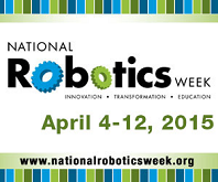 Logo National Robotics Week