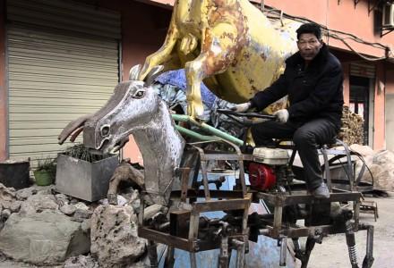 Chinese baut Roboterpferd
