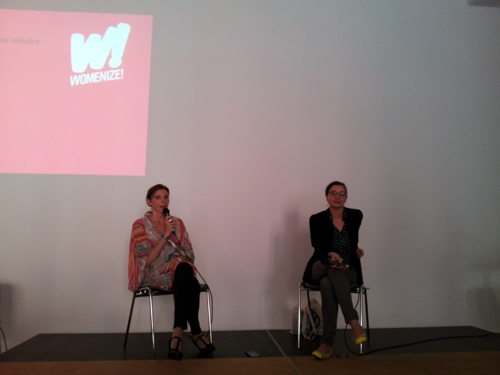 Womenize! gegenseitiges Interview