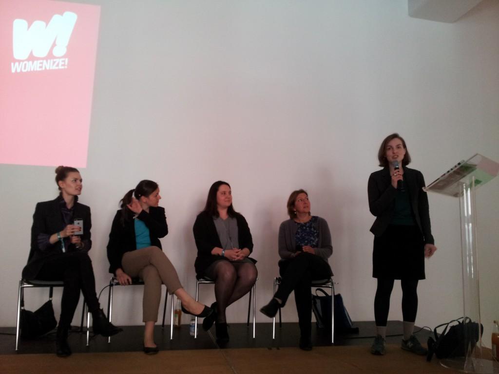 Womenize! Paneldiskussion