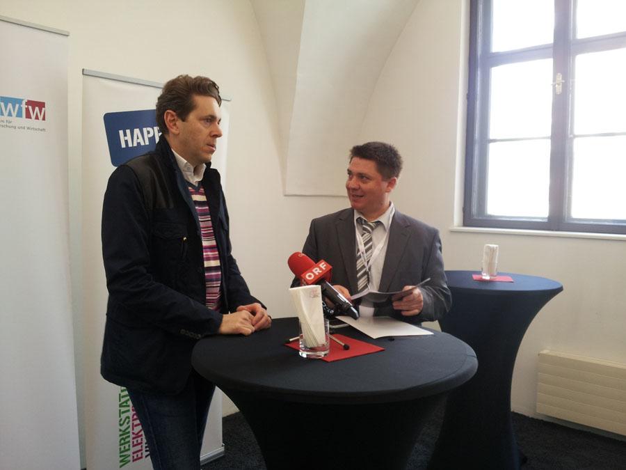 Pressekonferenz mit Dr. Mahrer und Dr. Stelzer