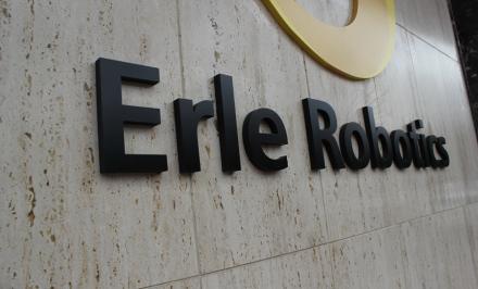 Das Büro-Logo von Erle Robotics