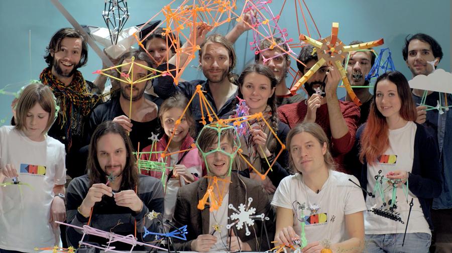 Das Quirkbot- und Kids Hack Day-Team