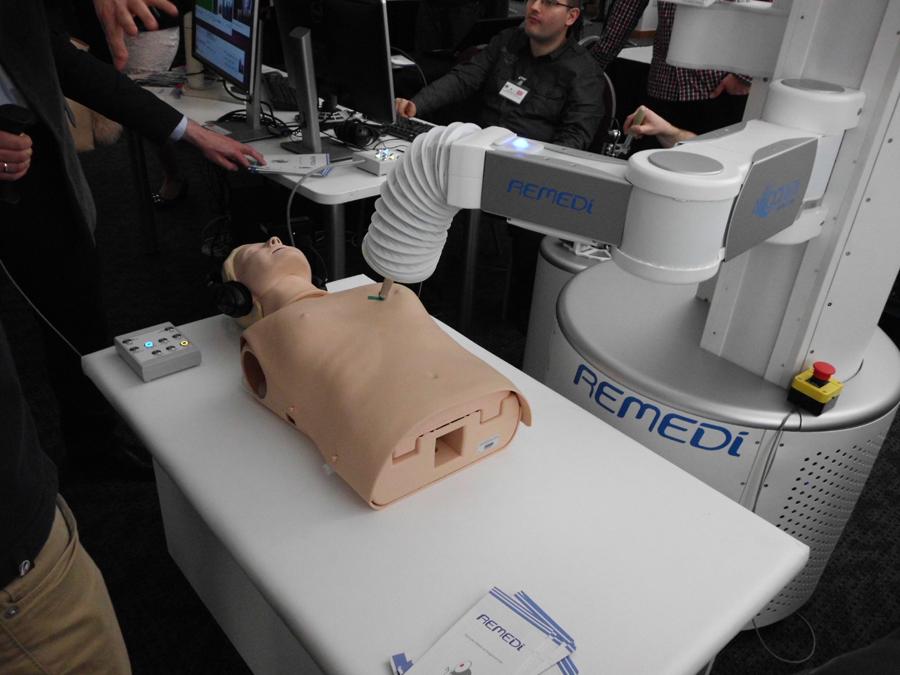 Das ReMeDi-System mit Dummy-Patient