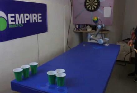 Bier Pong – jetzt auch für Roboter