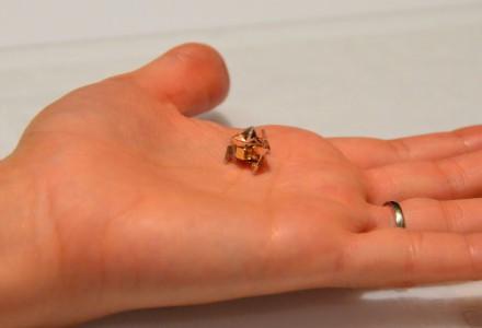 Faltbarer und schwimmfähiger Origami-Roboter