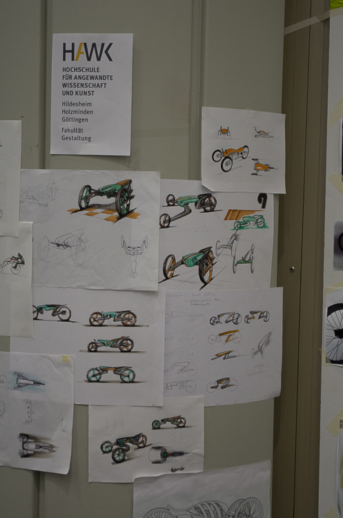 Hier werden neue Fahrzeugformen entworfen.