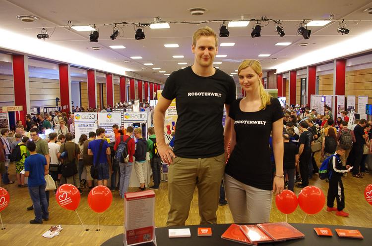 Wir hatten einen spannenden Tag auf der Maker Faire 2015 in Hannover! Vielen Dank an das Organisationsteam und die Aussteller!