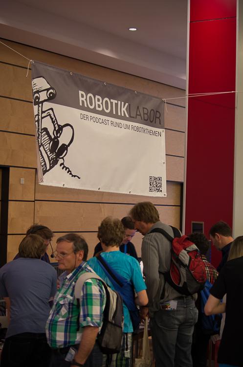 Auch das Robotiklabor präsentierte sich auf der Maker Faire.