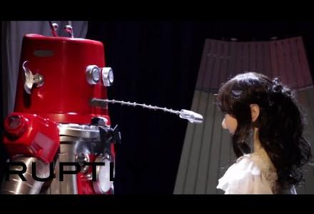 Die erste Roboterhochzeit