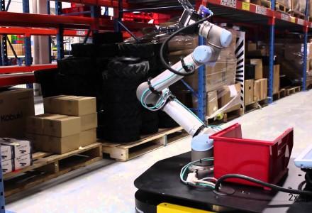 Omnidirektionaler Kommissionsroboter
