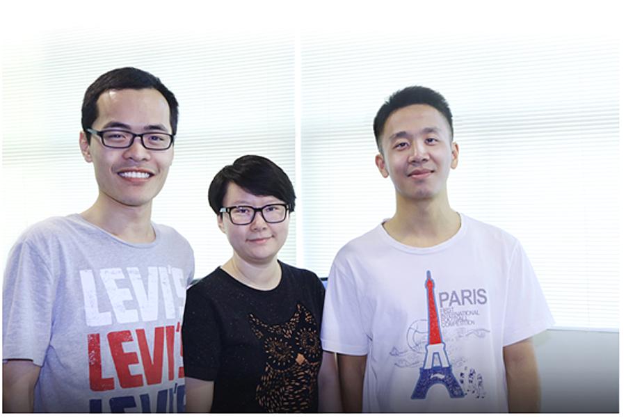 Gründerteam von EVOL
