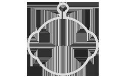 Roboterkopf Logo