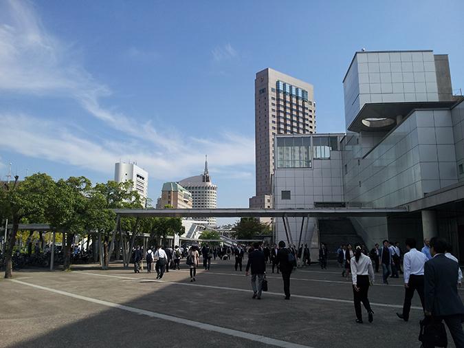 Die CEATEC fand im International Convention Complex in Tokio statt.