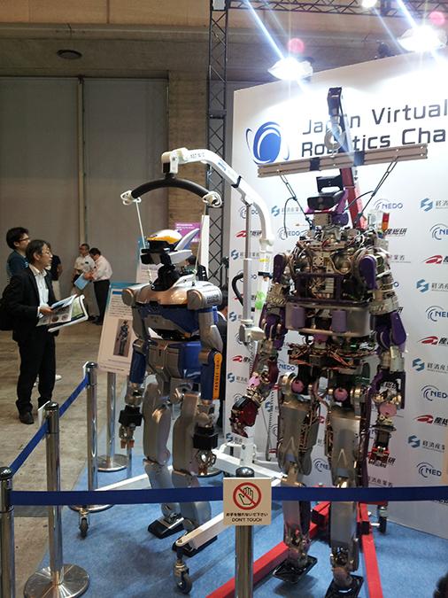 Roboter auf der CEATEC.