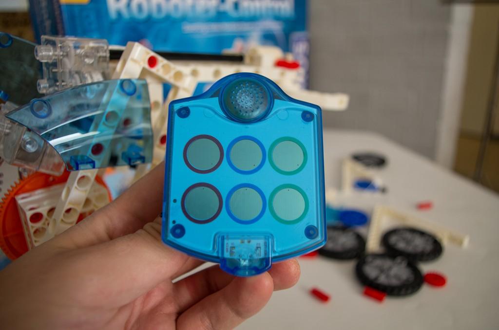 Die Fernbedienung des Roboter-Controls.