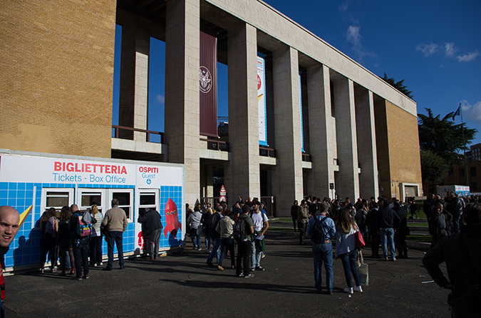 Auch in diesem Jahr bot der Campus der Universität La Spienza in Rom die Fläche für die Ausstellung. Mehr als 600 Aussteller präsentierten ihre Projekte auf der Maker Faire Rom.