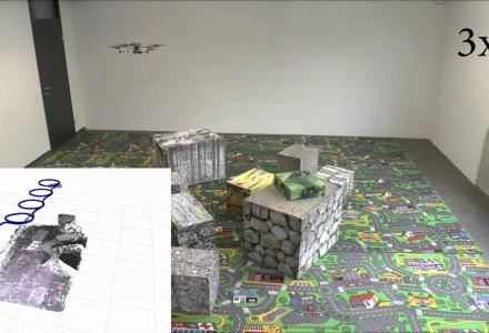 Autonom fliegender 3D-Scanner