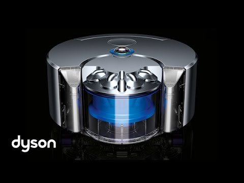 Der Dyson 360 Eye in Action