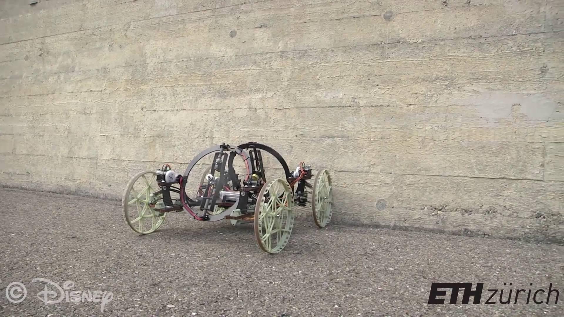 Roboter ohne Höhenangst