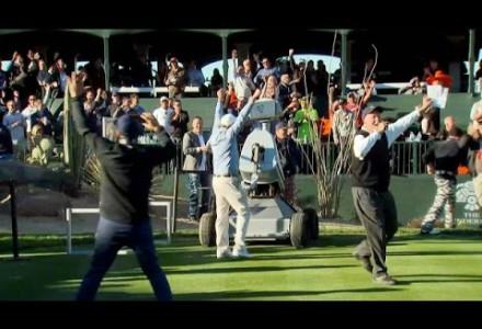 Golf-Roboter mit Traum-Schlag